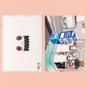 ウドラクリアファイル「冷蔵庫」